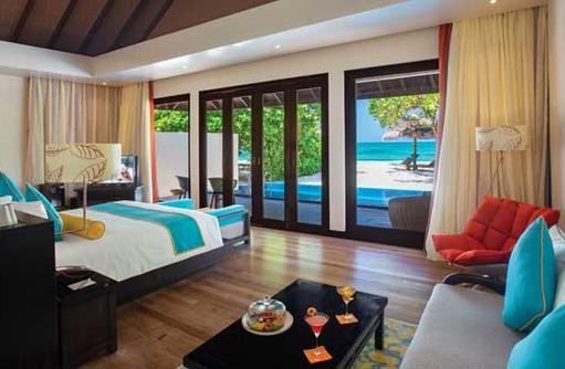 Sunset Pool Villa, Atmosphere Kanifushi Maldives