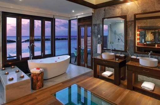 Water Villa mit Pool, Atmosphere Kanifushi Maldives