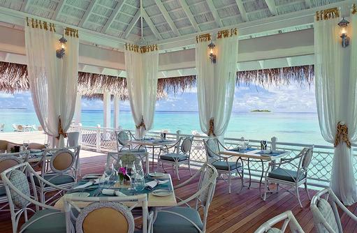 Ocean Breeze Restaurant von Innen, Ayada Maldives