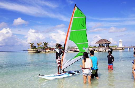 Windsurfen, Ayada Maldives