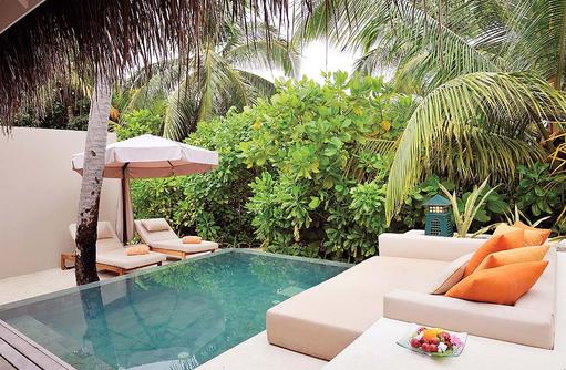 Beach Villa mit Pool, Ayada Maldives