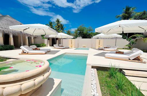 Spa Bereich mit Pool, Ayada Maldives
