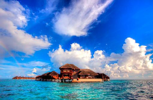 Außenansicht Royal Ocean Suite, Ayada Maldives