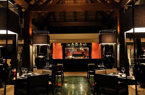 Kai Restaurant Innenbereich, Ayada Maldives