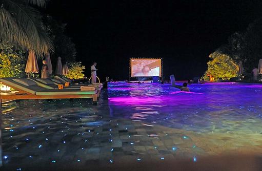 Filmnacht am Pool, Ayada Maldives