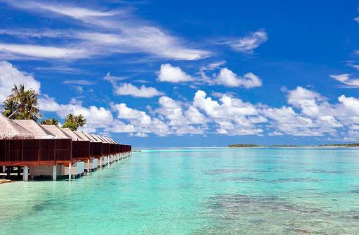 Ocean Villen Außenansicht, Ayada Maldives