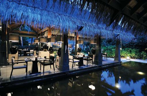 Kai Restaurant, Terrasse, Ayada Maldives
