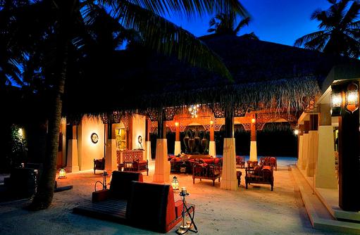 Ottoman Lounge, Blick von aussen, Ayada Maldives