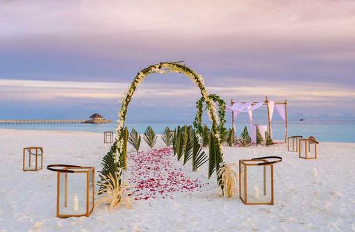 Hochzeit, Baglioni Resort Maldives