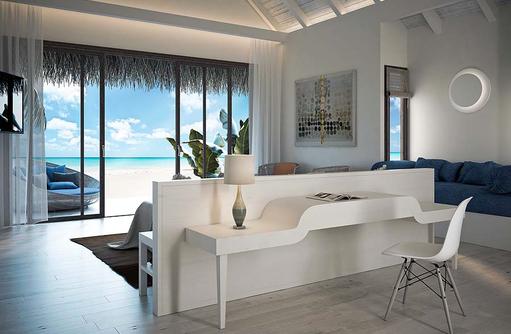 Wohnen Beach Villa, Baglioni Resort Maldives