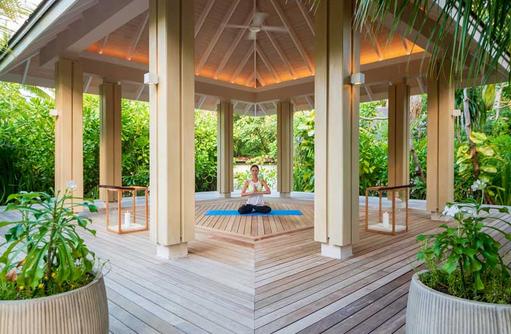 Yoga Pavilion, Baglioni Resort Maldives