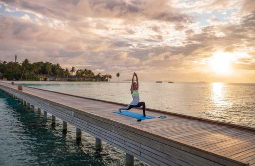 Yoga, Baglioni Resort Maldives