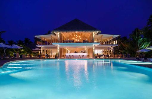 Gusto und Pool, Baglioni Resort Maldives