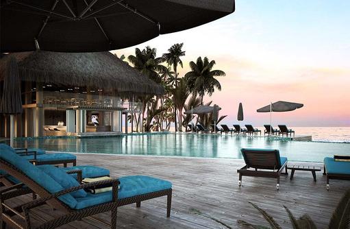 Mainpool, Baglioni Resort Maldives