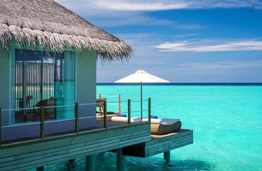 Water Villa Terrasse, Baglioni Resort Maldives