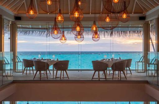Gusto Ausblick, Baglioni Resort Maldives
