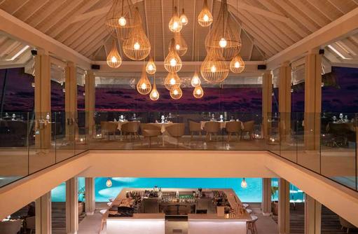 Pool Bar, Baglioni Resort Maldives