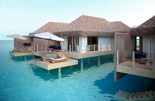Water Villa mit Pool, Baglioni Resort Maldives