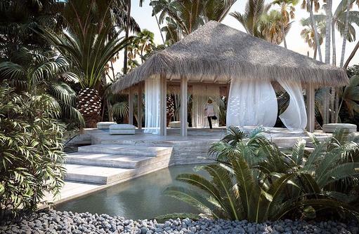 SPA Bereich, Baglioni Resort Maldives