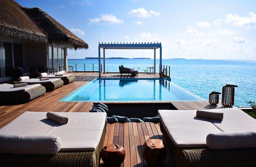 Presidental Water Villa, Baglioni Resort Maldives