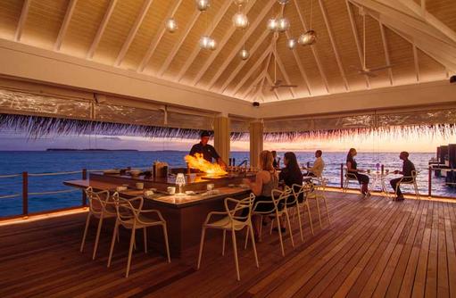 Teppanyaki, Baglioni Resort Maldives
