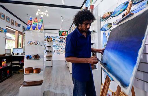 Brush Shop, Bandos Maldives