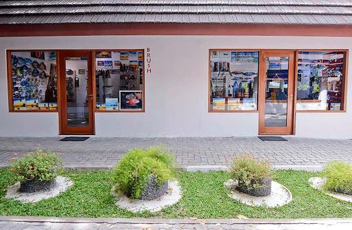 Brush Shop von außen, Bandos Maldives