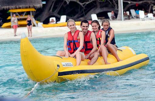 Bananabootfahren, Bandos Maldives