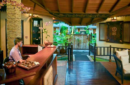 Orchid Spa, Rezeption, Bandos Maldives