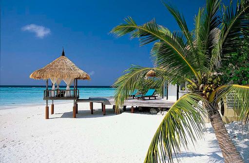 Beachfront Pool Villa, Banyan Tree Vabbinfaru, Malediven