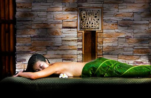 Spa, Massage, Wellness, Regen, Banyan Tree Vabbinfaru, Malediven