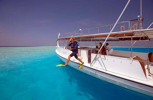 Tauchausflug, Tauchsafari, Baros Maldives