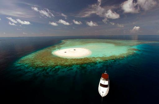 Sandbank, Baros Maldives