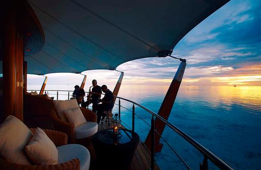 The Lighthouse Lounge, Jazz, Livemusik, Baros Maldives