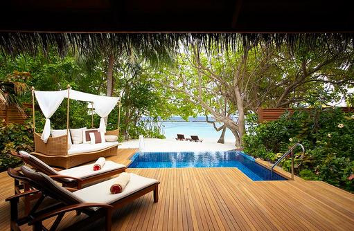 Baros Pool Villa, Strandzugang, Meerblick, Baros Maldives