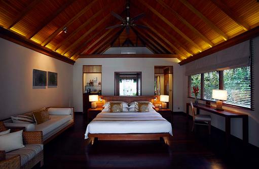 Deluxe Villa, Schlafzimmer, Baros Maldives