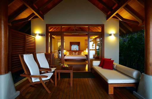 Deluxe Villa, Terrasse, Baros Maldives