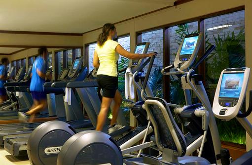 Fitnessstudio, Gym, Baros Maldives