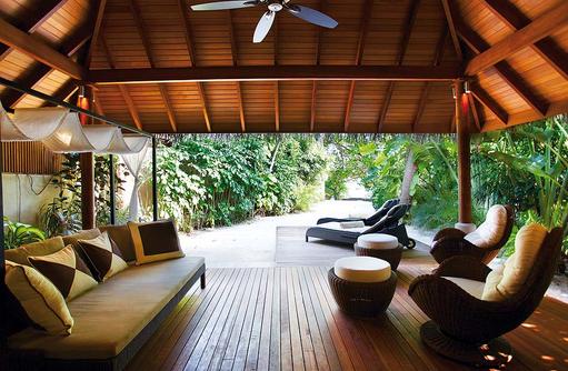 Baros Residence, Terrasse, Baros Maldives