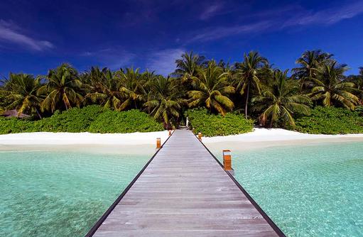 Ankunftssteg, Baros Maldives