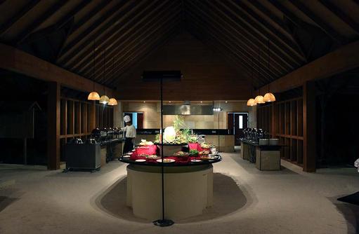 Kilhi Restaurant, Canareef Resort, Malediven