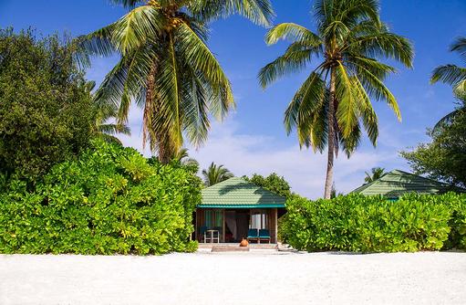 Jacuzzi Beach Villa, Canareef Resort, Malediven