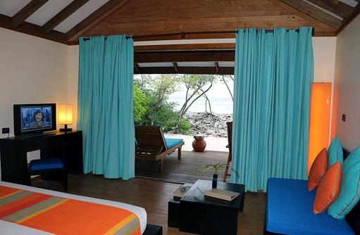 Terasse Sunrise Villa, Canareef Resort, Malediven