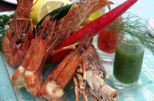 Sea Food, Canareef Resort, Malediven