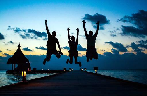 Life, Canareef Resort, Malediven