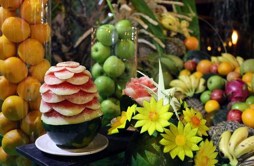 Frucht Buffet, Canareef Resort, Malediven