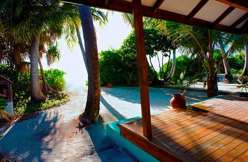 Terasse Sunset Beach Villa, Canareef Resort, Malediven