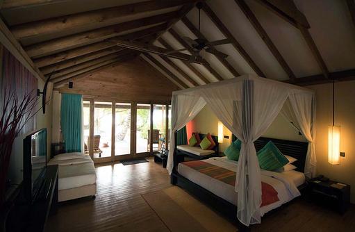 Ambiente Jacuzzi Villa, Canareef Resort, Malediven