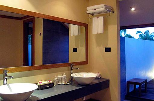 Waschbecken, Jacuzzi Villa, Canareef Resort, Malediven