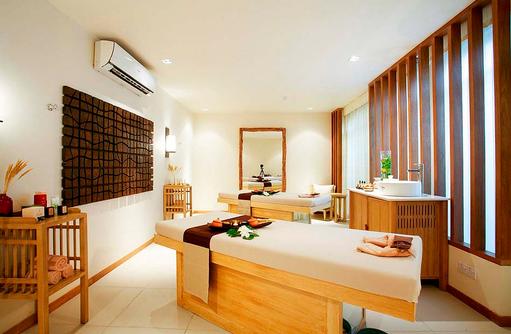 Spa Cenvaree, Behandlungsraum, Centara Grand Island Resort & Spa, Malediven